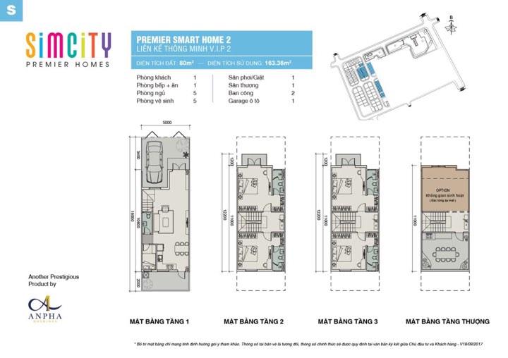 Thiết kế simcity nhà phố 80 m2