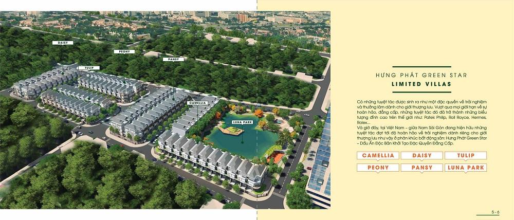 Biệt thự nhà phố Hưng Phát green star