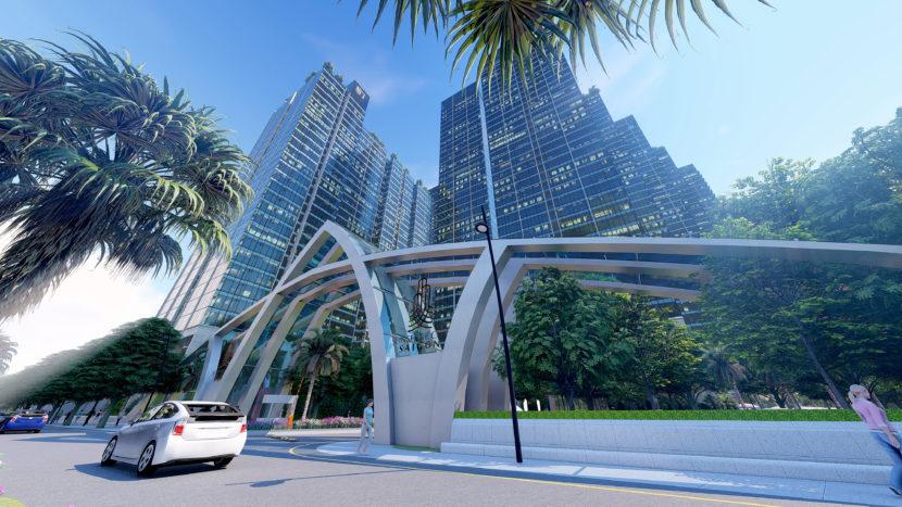 cổng dự án sunshine city sài gòn