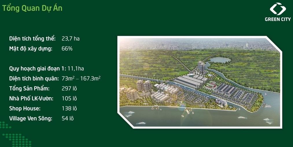 Quy mô dự án Green City quận 9