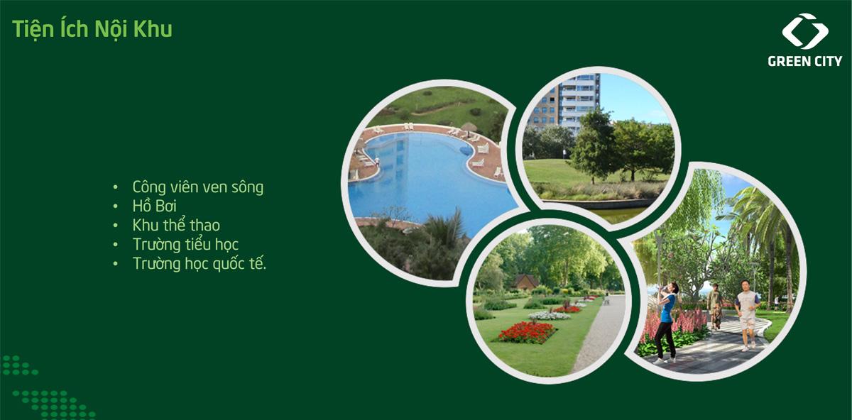 Tiện ích dự án green city