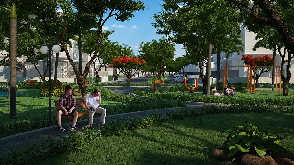 Công viên nội khu lic city